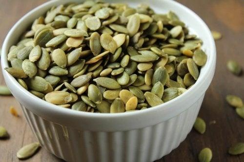 Ciotolina con semi di zucca