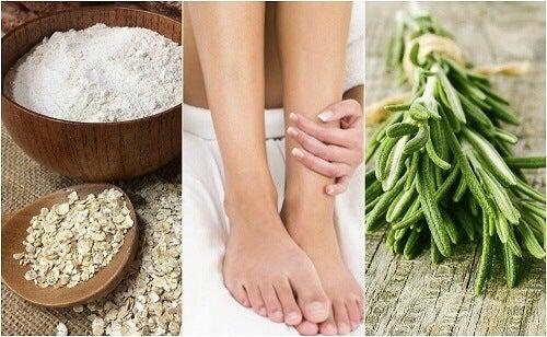 Combattere il cattivo odore dei piedi con rimedi naturali