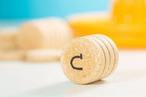 Compresse di vitamina c.