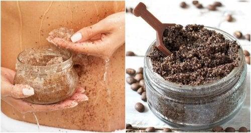 Attenuare le smagliature con caffè e olio di cocco