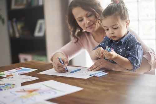 Crescere dei figli da sole richiede organizzazione