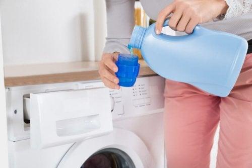 Detergente naturale per lavatrice