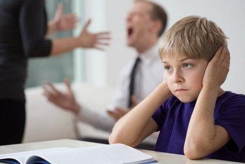 Gli effetti delle liti domestiche sui bambini