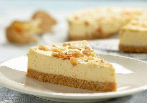 Fetta di cheesecake