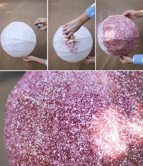 Lampade decorative rosa
