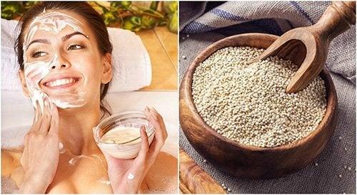 Lavare il viso con la quinoa: come e perché