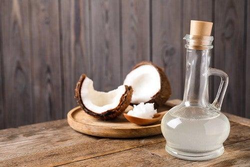Olio di cocco naturale.