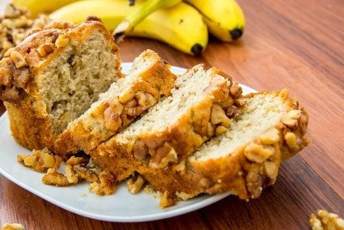 Pane alla banana ricette per diabetici