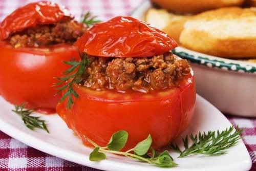 ricette per diabetici: pomodori ripieni