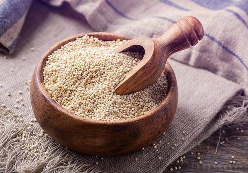 lavare la faccia con la quinoa ricetta alternativa