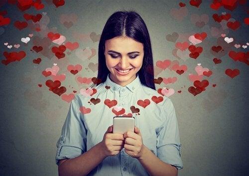 Ragazza innamorata
