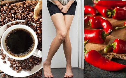 Vescica iperattiva: 5 alimenti da evitare