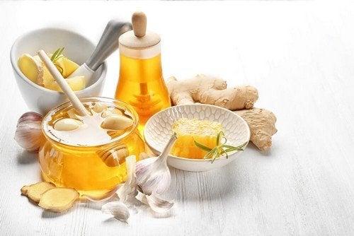 Colesterolo sotto controllo con zenzero, aglio e miele
