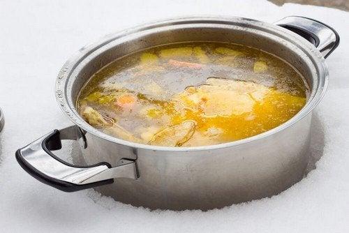 Ricette per una zuppa con pochi grassi