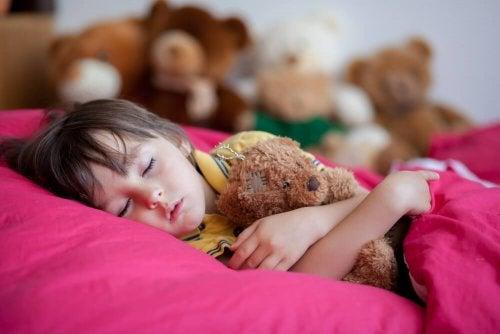 Sintomi dell'enuresi infantile