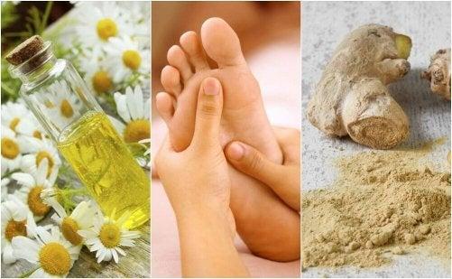 Bruciore ai piedi: calmarlo con rimedi naturali