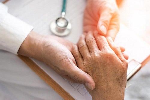 Calmare l'artrite reumatoide
