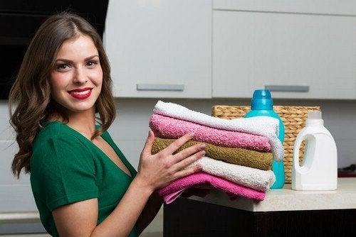 Ammorbidente ecologico per asciugamani e indumenti