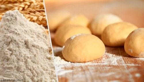 Ricetta del pane casereccio senza impasto