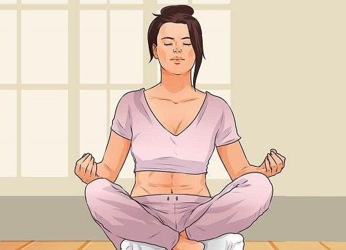 Yoga per allontanare la depressione