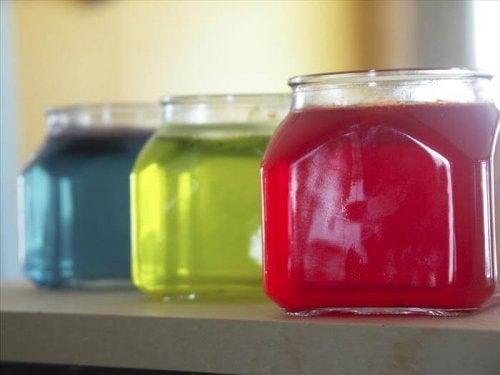 Barattoli profumati in gelatina