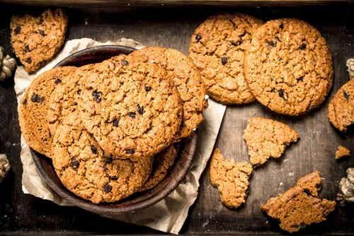 Biscotti di avena, nutrienti e gustosi