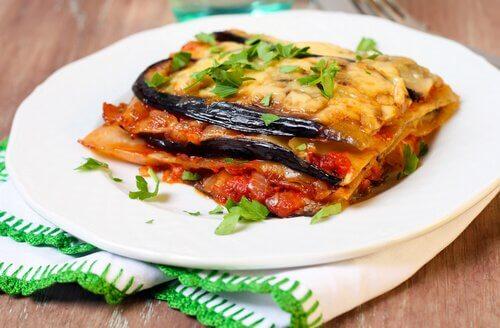 Lasagne con melanzane e zucchine