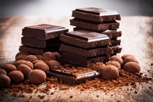 Quadretti di cioccolato
