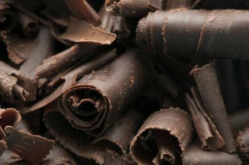 Scaglie di cioccolato fondente