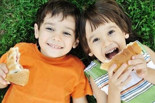 Errori nell'alimentazione dei bambini