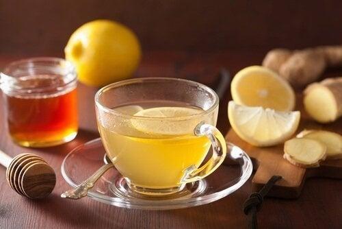 infusione a base di limone