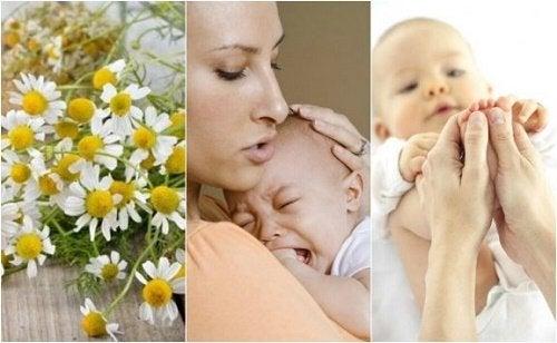 Rimedi per le coliche del neonato da preparare in casa