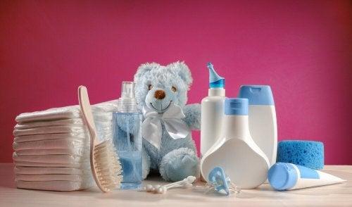 Prodotti per la pulizia del bebè