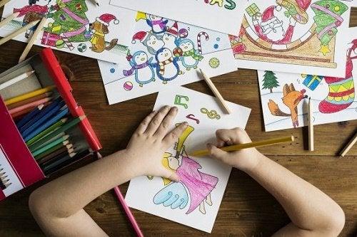 I benefici del disegno per i più piccoli