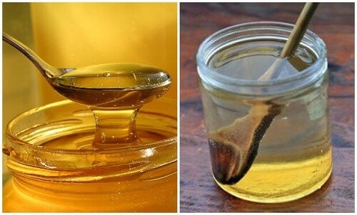 Curare il mal di gola con acqua tiepida e miele