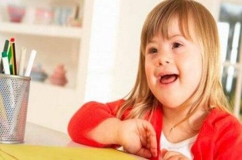 Educare i bambini con sindrome di Down