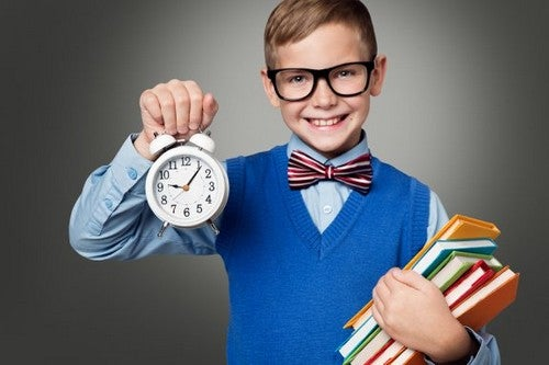 Insegnare ai bambini a sfruttare bene il tempo