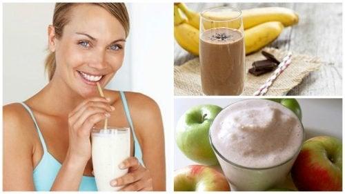 Benefici dei frullati proteici