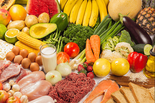 Frutta verdure e proteine