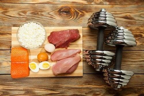 10 alimenti per aumentare la massa muscolare