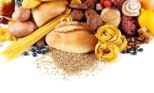 Pane, pasta e cereali