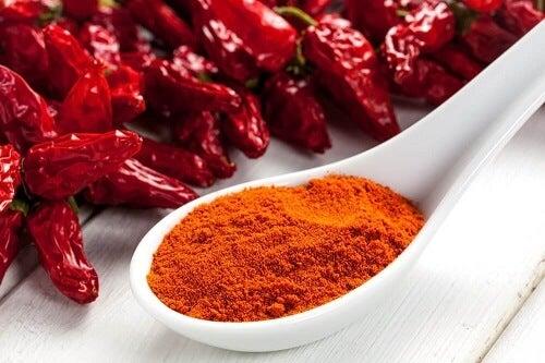 Crema al peperoncino per vene varicose