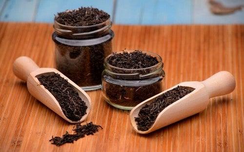Tè nero per preparare efficaci rimedi naturali