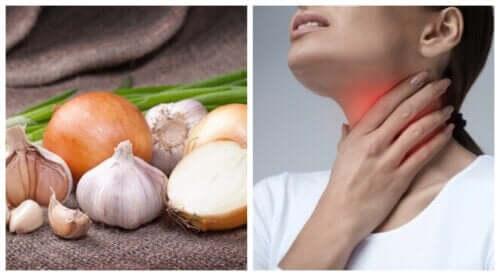 4 rimedi per alleviare un'infezione alla gola
