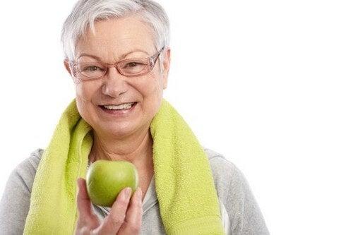 Aumento di peso con l'età e come evitarlo