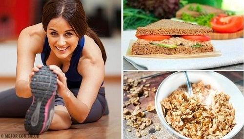 Cosa mangiare a colazione prima di fare sport