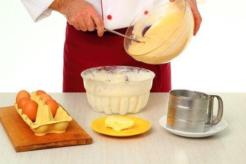 Ingredienti per la crema pasticcera