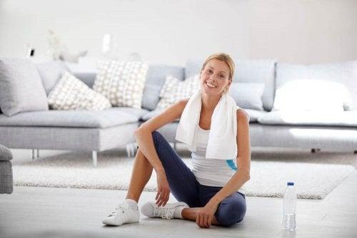 Quali esercizi fare nella vostra palestra a casa