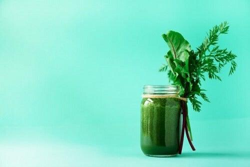 il miglior frullato verde brucia grassi