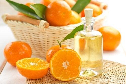 Olio di jojoba e mandarino
